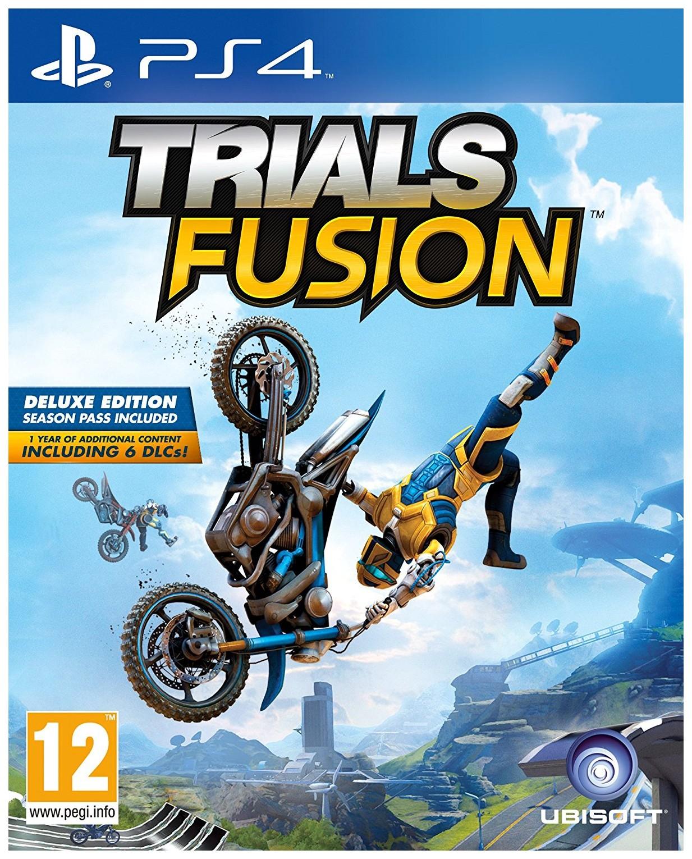 Игра Trials Fusion для PlayStation 4