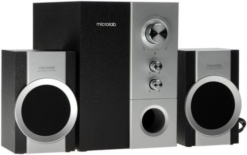 Колонки компьютерные 2.1 Microlab M 520 Серебристый/Черный
