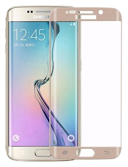 Защитное стекло CaseGuru для Samsung Galaxy S6 Edge Plus Gold