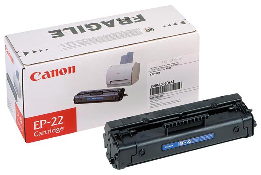 Картридж для лазерного принтера Canon EP-22 черный, оригинал