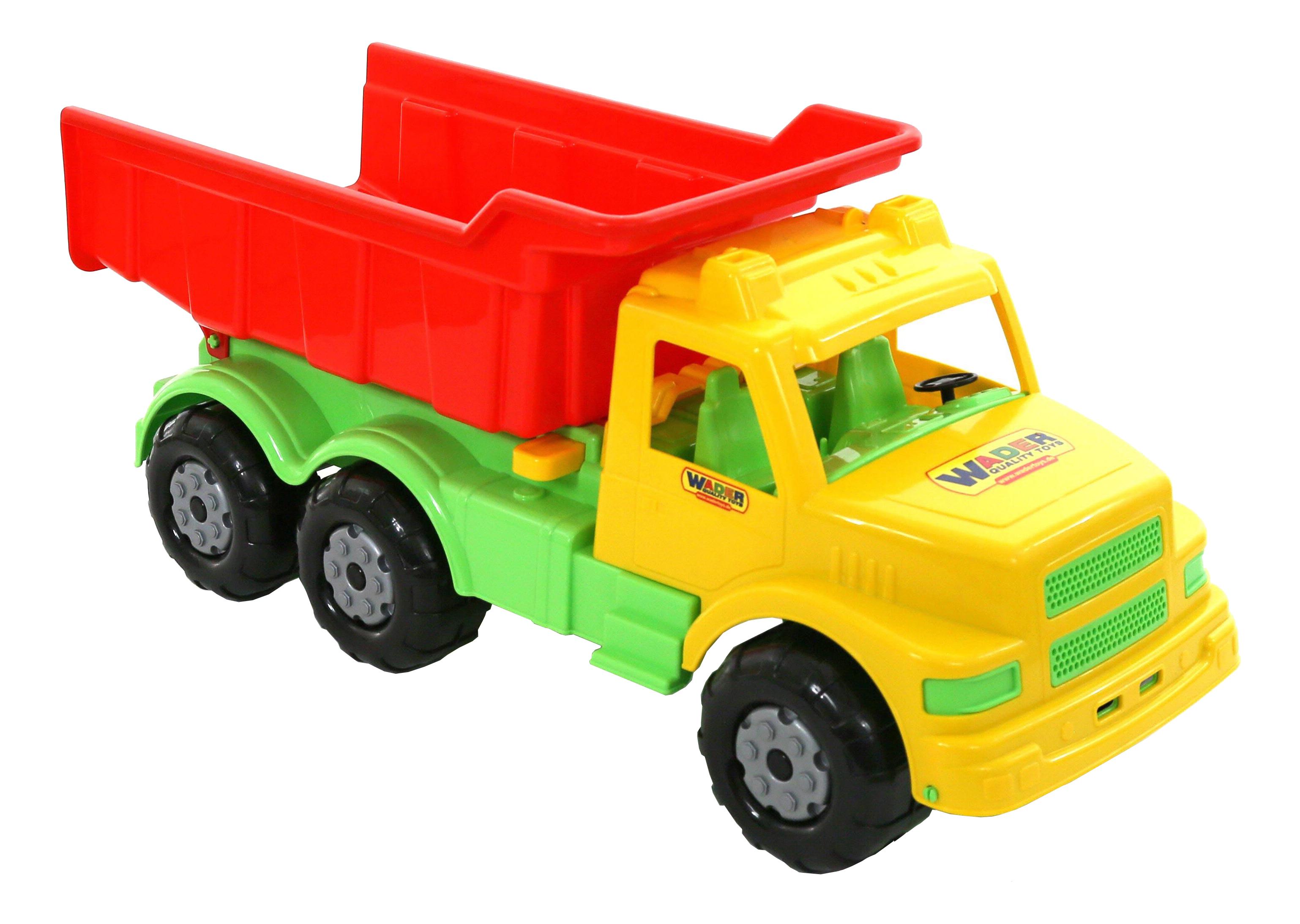 Машинка пластиковая Полесье Буран №1 желто-красный 43627