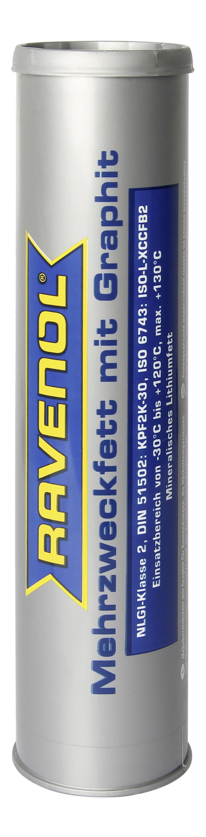 Смазка графитовая Ravenol Mehrzweckfett m. Graphit 4014835768147