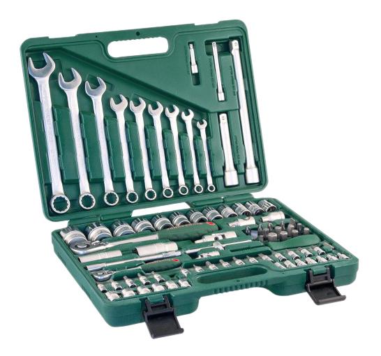 Набор инструментов для автомобиля JONNESWAY S04H52482S