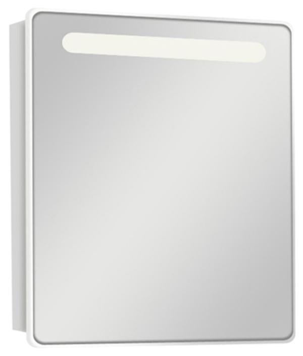 Шкаф-зеркало для ванной Акватон Америна 60L, белый (1A135302AM01L)