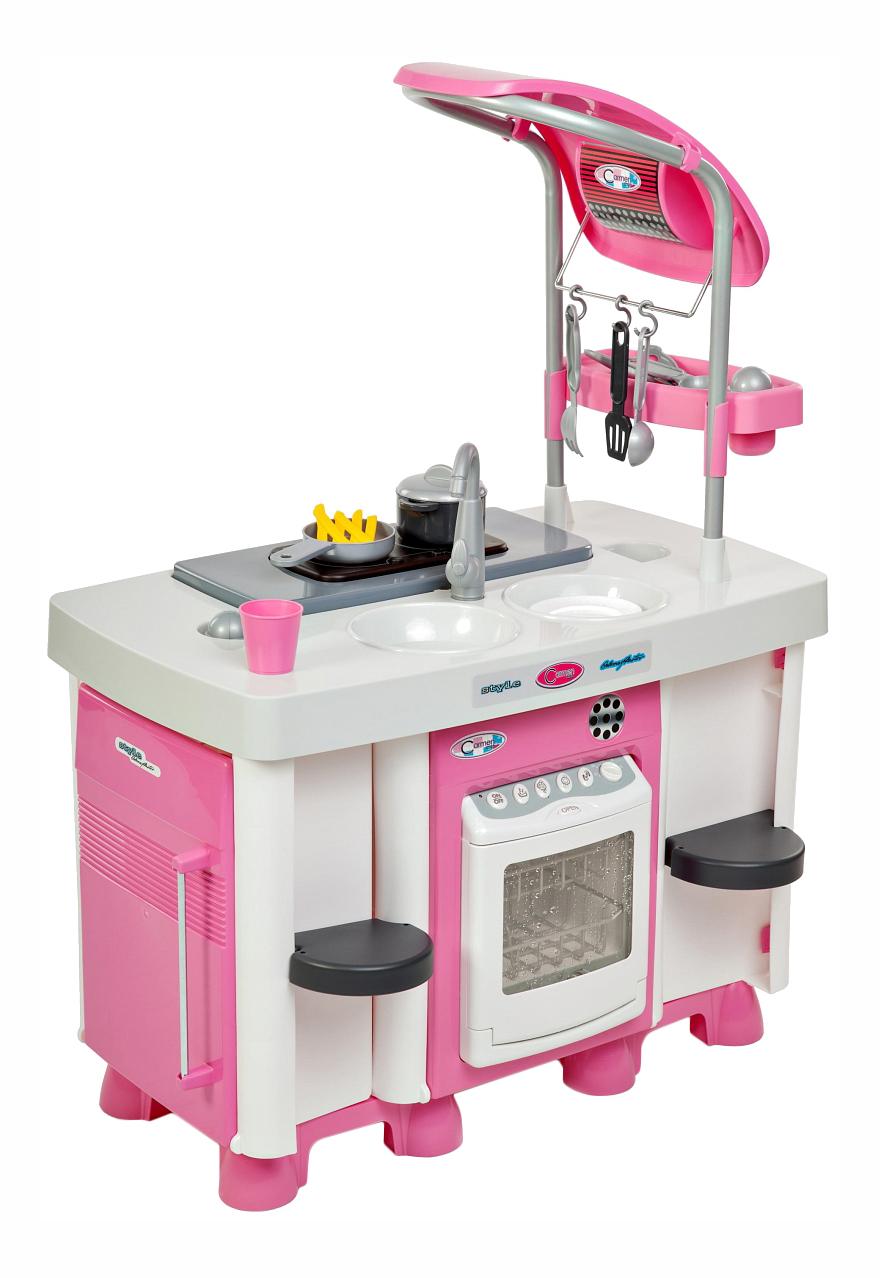 Купить Набор Полесье Carmen с посудомоечной машиной и варочной панелью, Детская кухня и аксессуары