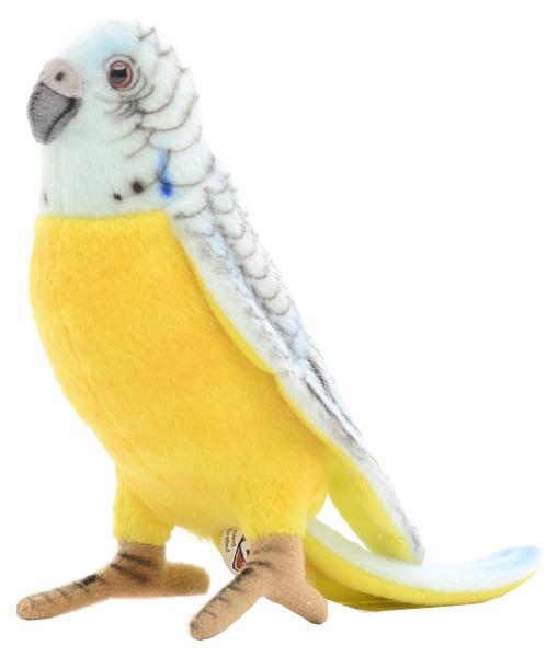 Мягкая игрушка Hansa Creation Попугай Волнистый Голубой 15 см