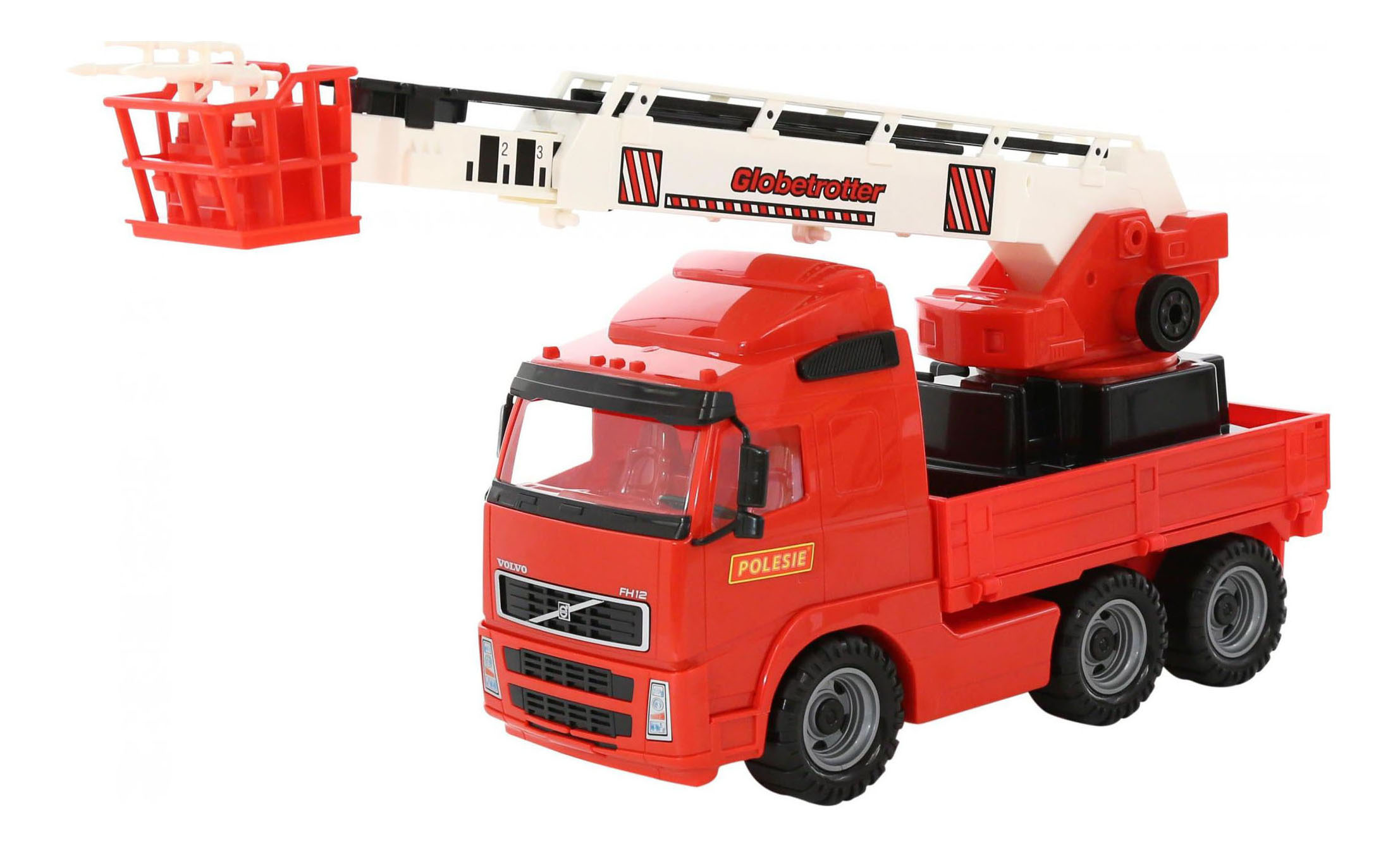 Пожарная машина Полесье Volvo фото