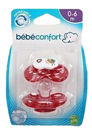 Набор детских пустышек Bebe Confort Safe Dummies Размер Т1 фото
