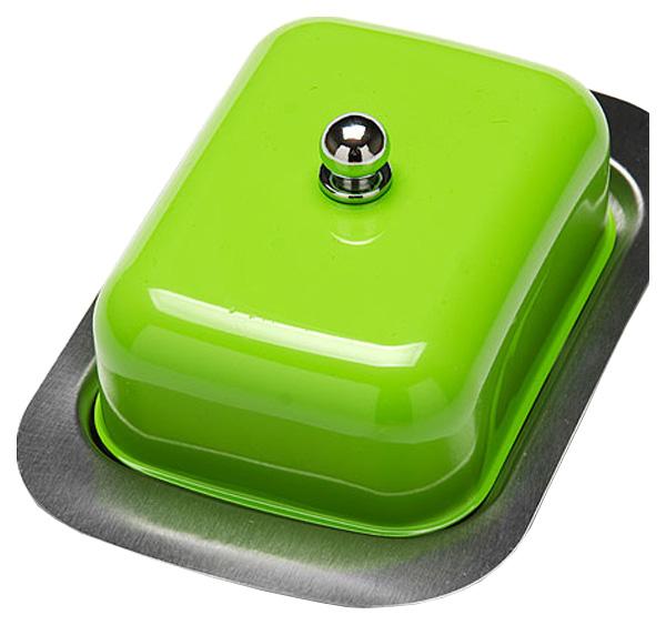 Масленка Mayer&Boch 21378 4 Зеленый, прозрачный, серебристый