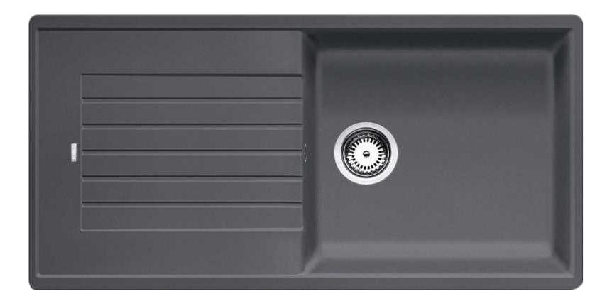 Мойка для кухни гранитная Blanco ZIA XL 6 S 518943 темно-серый
