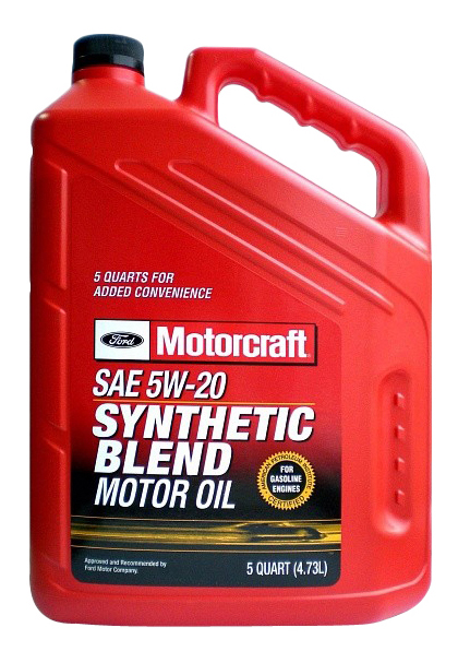 Моторное масло Ford Motorcraft Premium Synthetic Blend 5W-20 4,73л