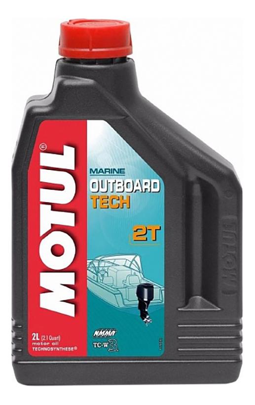 Моторное масло Motul Outboard Tech 2T 5W-30 2л 106614