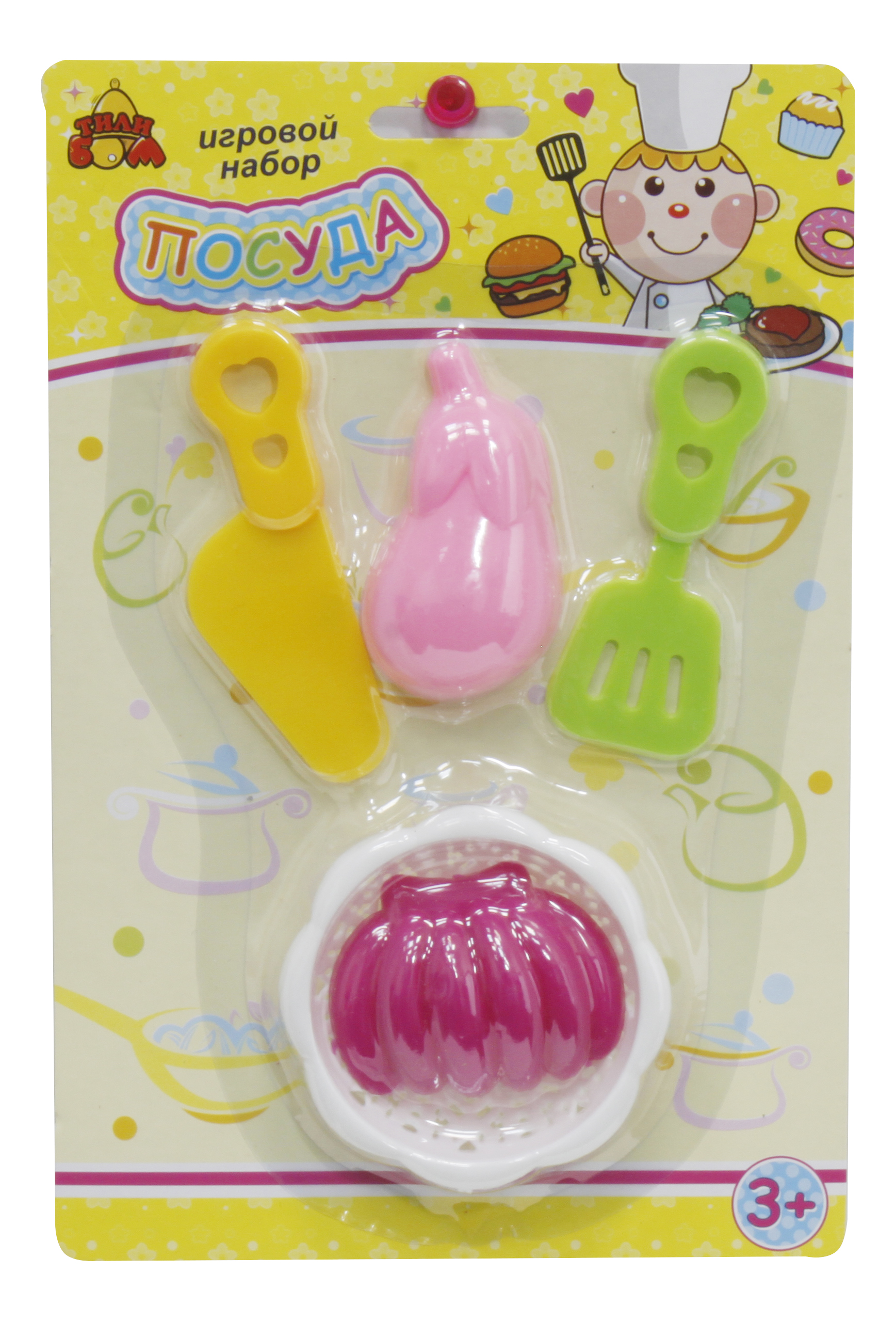 Набор посуды игрушечный Тилибом Посуда
