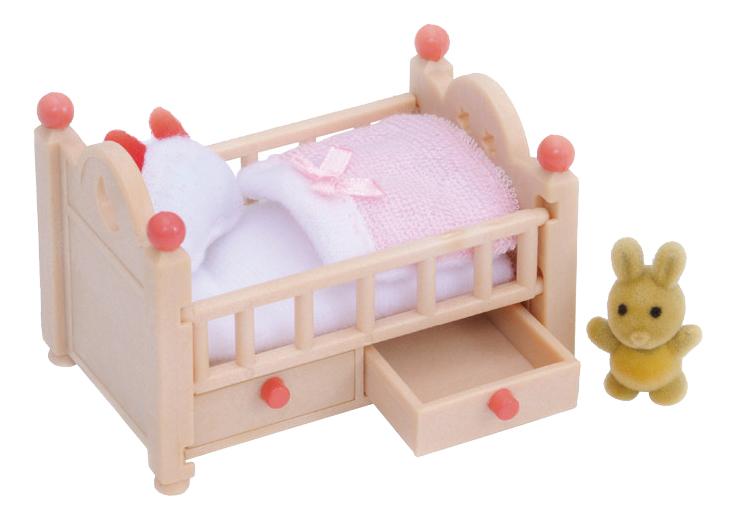 Купить Игровой набор Sylvanian Families Детская кроватка, Игровые наборы
