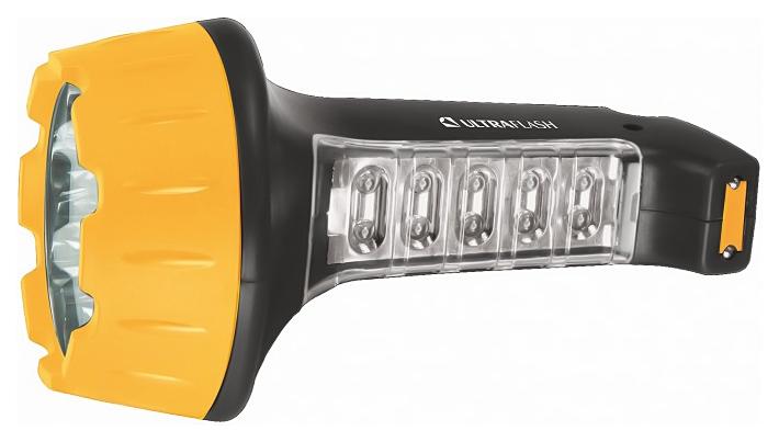 Туристический фонарь Camelion Ultraflash Akku Profi LED3819 желтый/черный, 2 режима