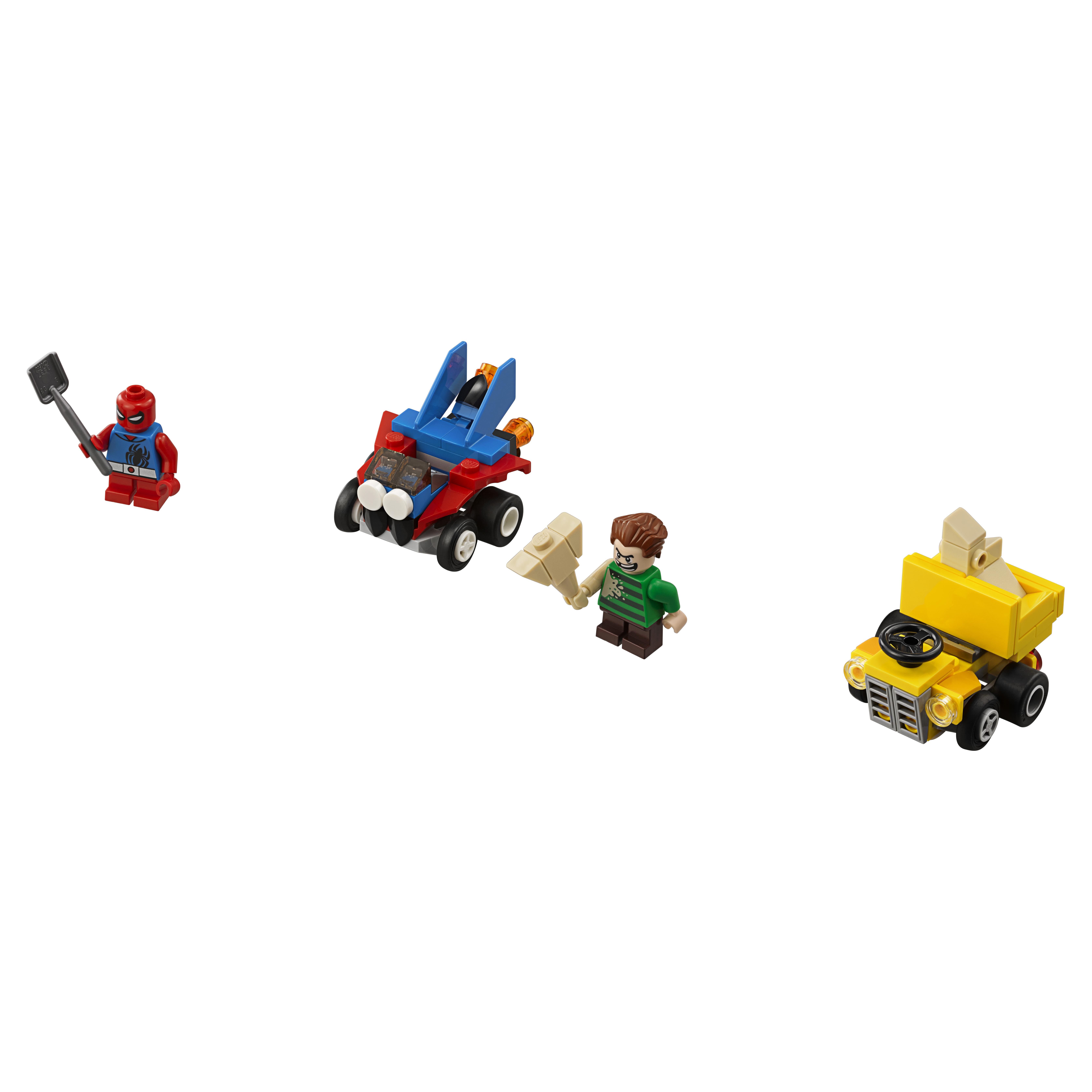 Купить Конструктор lego super heroes mighty micros человек-паук против песочного человека (76089), Конструктор LEGO Super Heroes Mighty Micros Человек-паук против Песочного человека (76089)