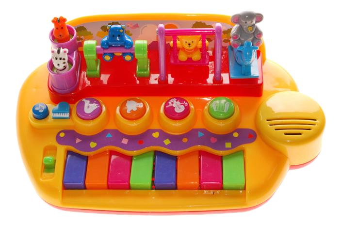 Развивающая игрушка Kiddieland Пианино с животными на качелях фото
