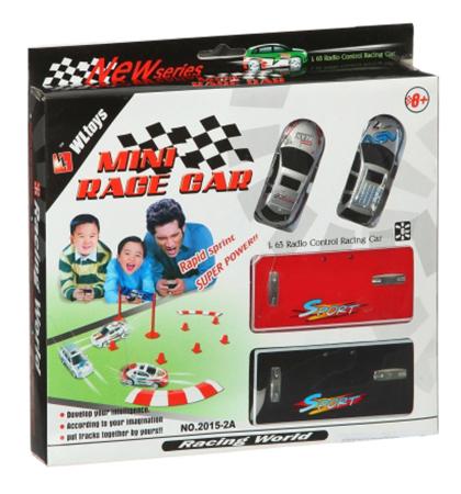 Купить Набор для гонок mini race car с 2 р/у машинками свет 1:63 М31236, Набор для гонок Mini Race Car с 2 р/у машинками Gratwest М31236, Радиоуправляемые машинки