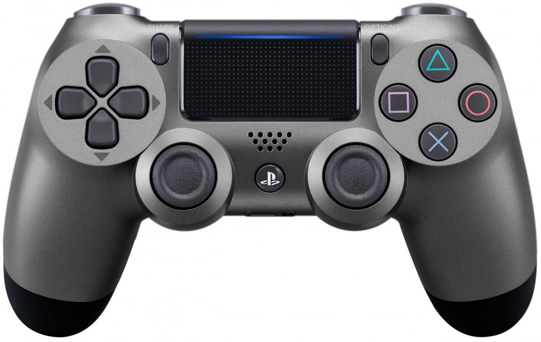 Геймпад Sony PlayStation Dualshock 4 v2 CUH-ZCT2E Steel Black геймпад DualShock v2 Steel Black (CUH-ZCT2E)