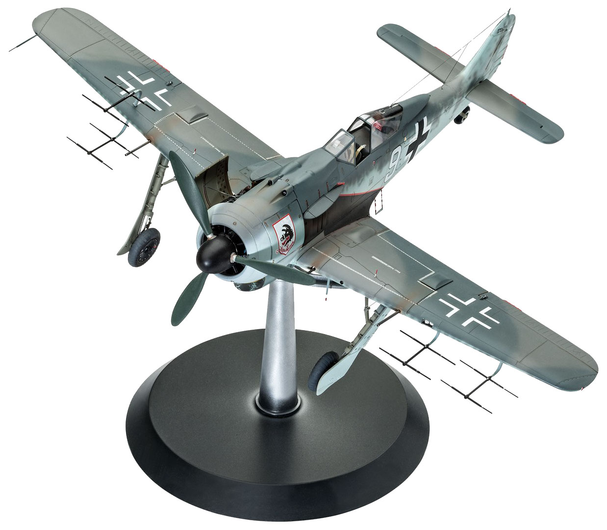 Купить Самолет Focke Wulf Fw 190 A-8 1:32 03926, Модель для сборки Revell самолет Focke Wulf Fw 190 A-8 1:32 03926, Модели для сборки