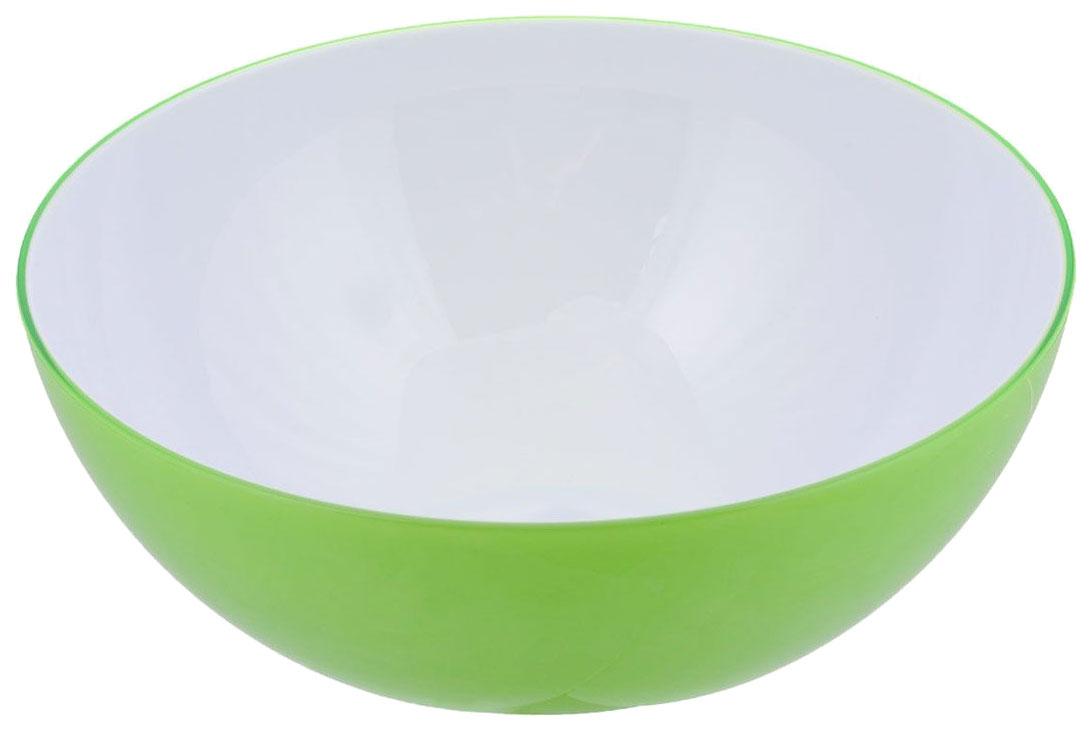 Пиала 20 см круглая зеленая
