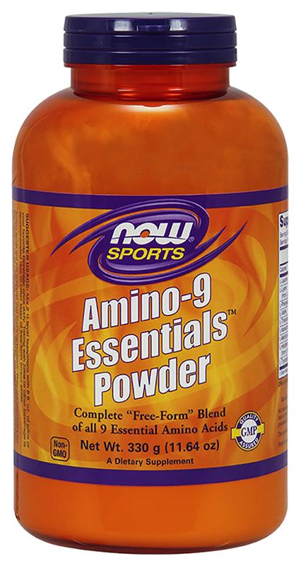 NOW Sports Amino 9 Essentials Powder