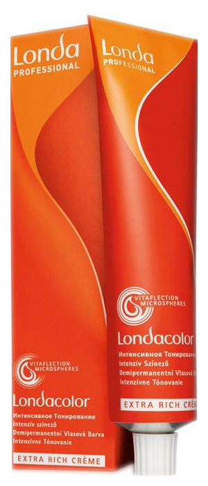 Краска для волос Londa Интенсивное тонирование, 7/43 блонд медно-золотистый, 60 мл