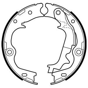 Тормозные колодки барабанные Delphi LS2083 фото