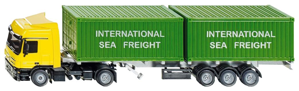 Купить Спецтехника Siku тягач с контейнерами 3921, Строительная техника