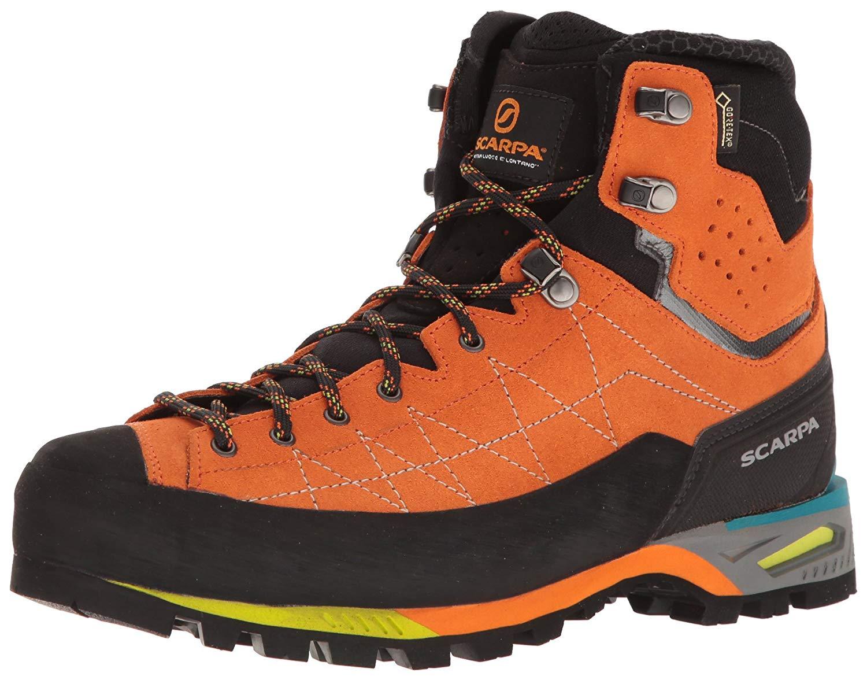 Ботинки Scarpa Zodiac Tech GTX мужские оранжевые