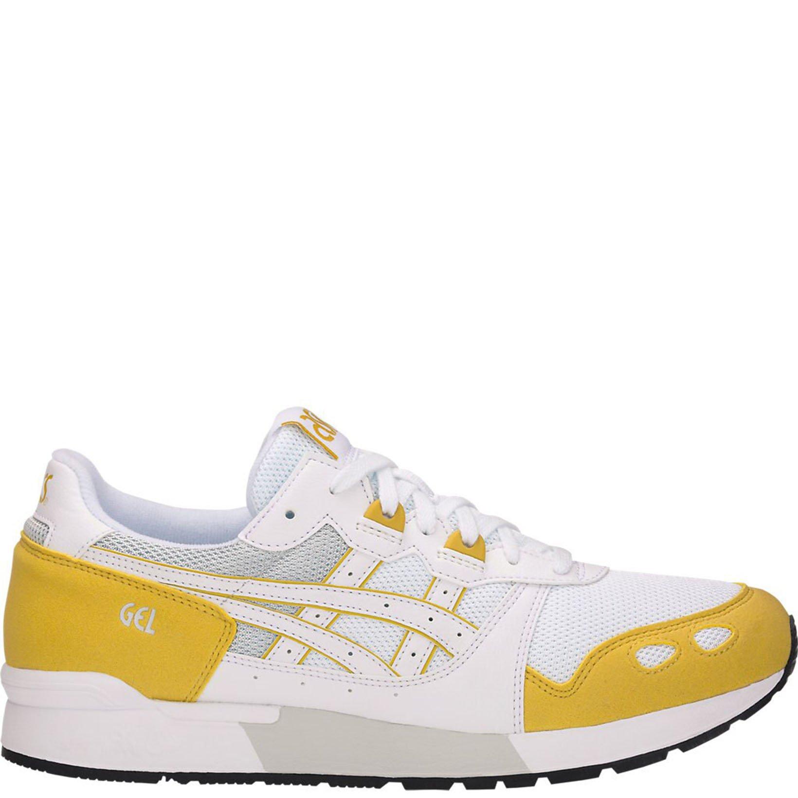 Кроссовки Asics Gel-Lyte, white/yellow, 37.5 RU фото