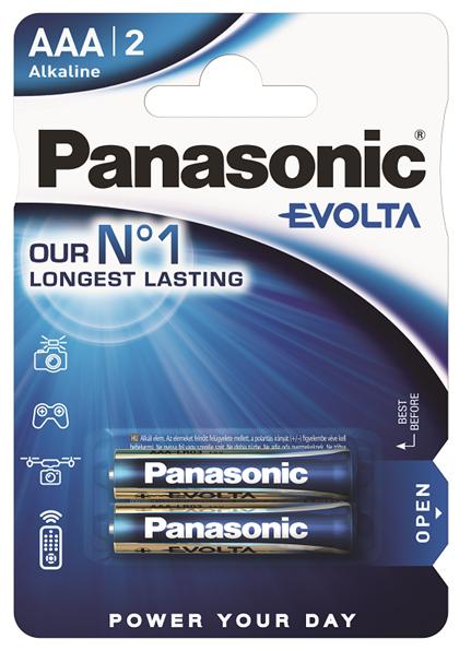 Батарейка Panasonic Evolta LR03EGE/2BP 2 шт