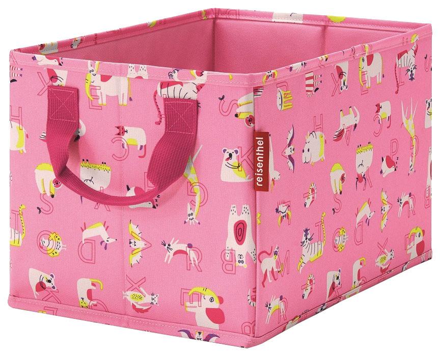 Купить Коробка для хранения детская Storagebox ABC friends pink, Reisenthel,