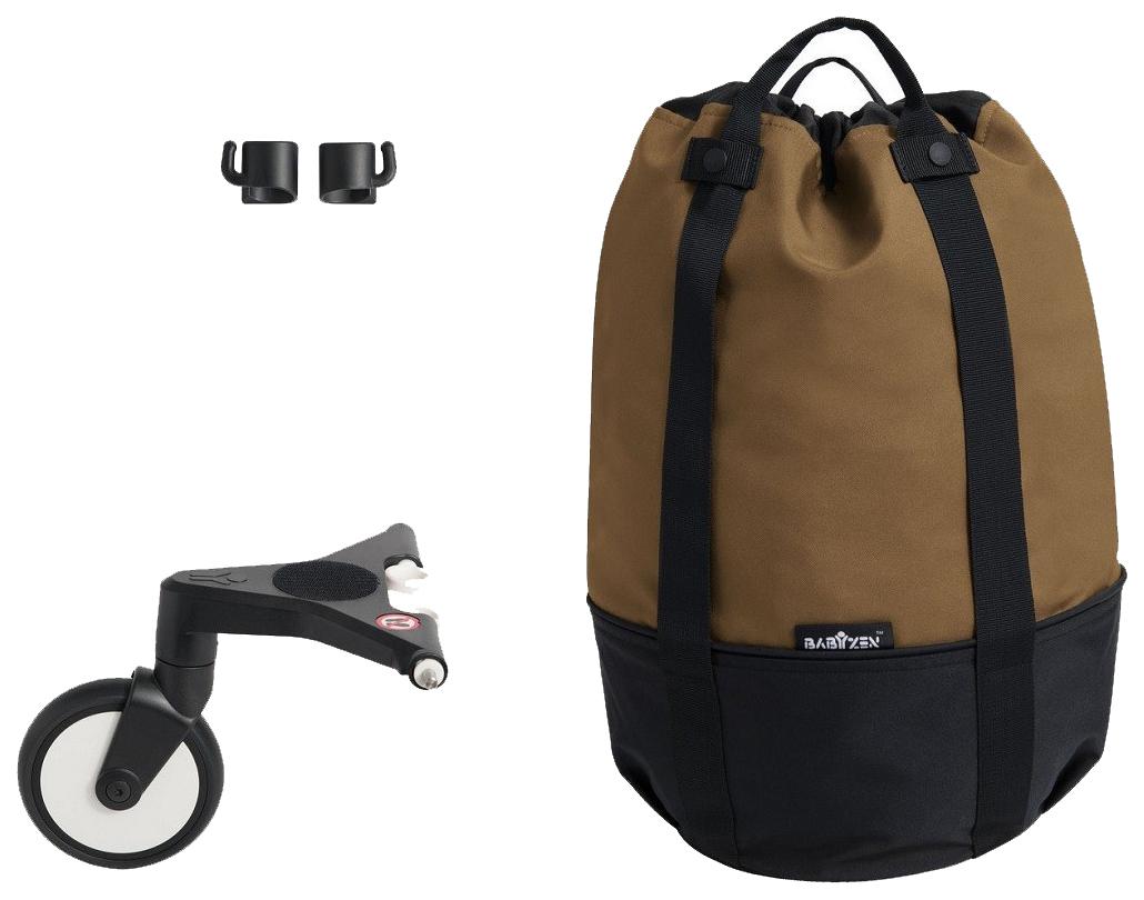 Сумка для коляски yoyo+ с колесом платформой toffee