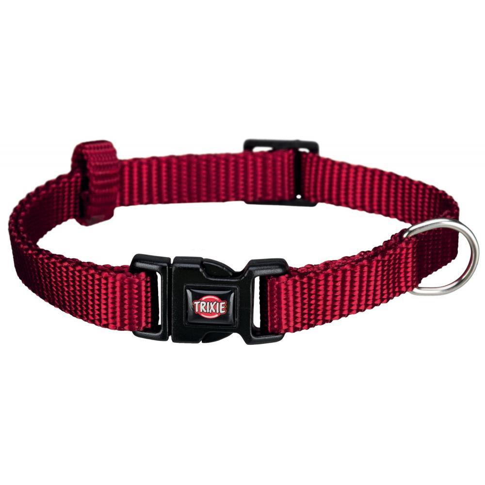 Ошейник для собак TRIXIE Premium, бордовый, XXS–XS, 15–25см, 10мм