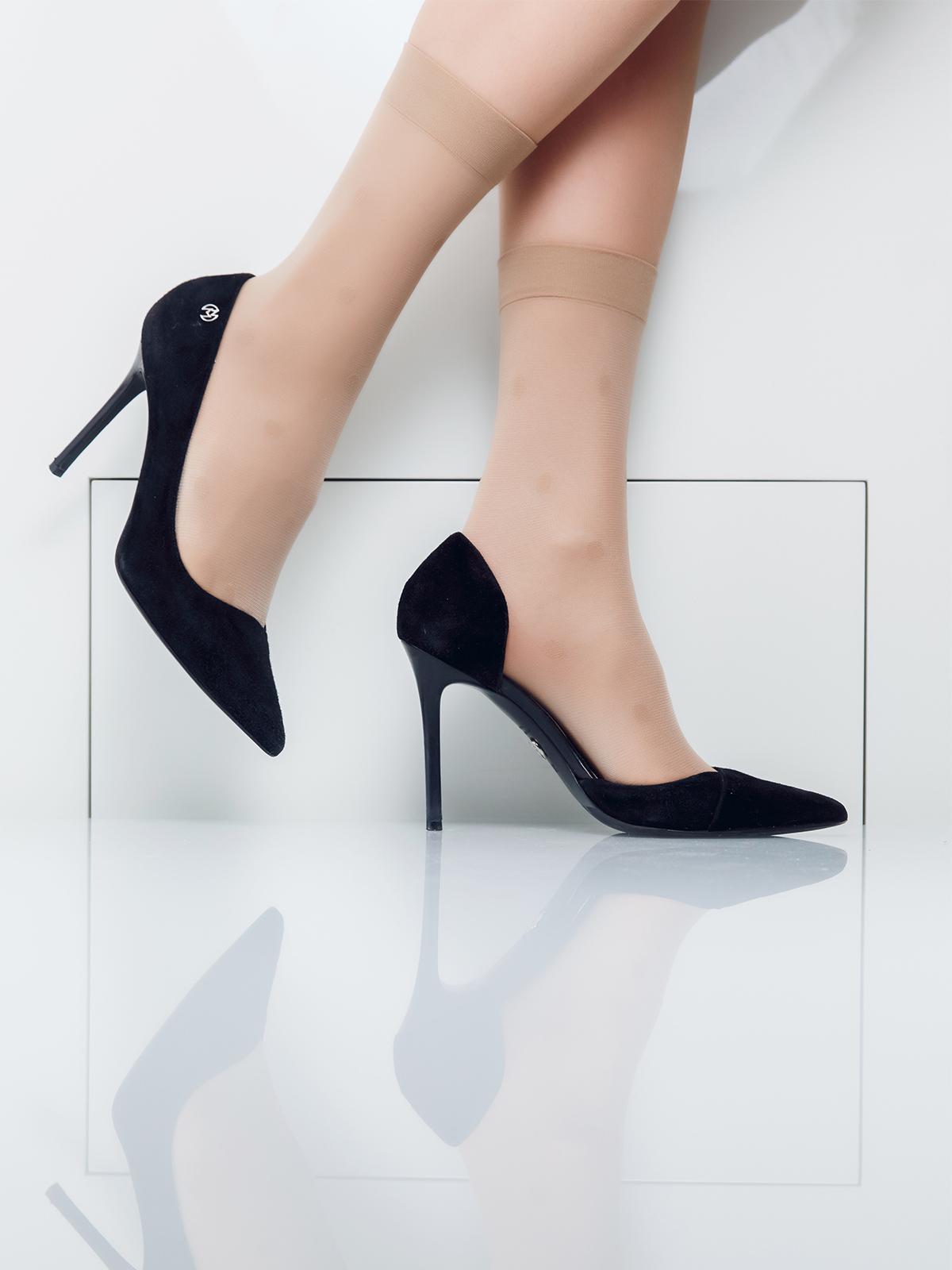 Носки женские Giulia коричневые UNI