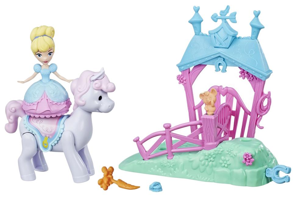 "Фигурка ""Принцессы Диснея"" Magical Movers - Золушка и пони Hasbro"