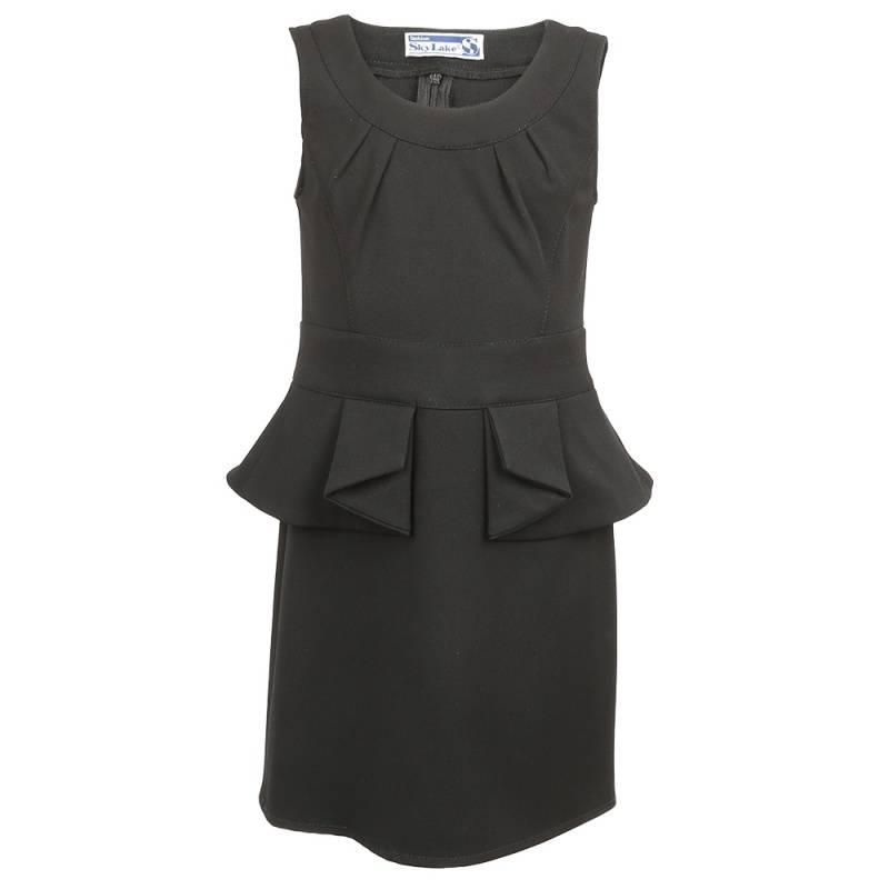 Купить ШФ-564, Сарафан SkyLake, цв. черный, 134 р-р, Сарафаны для девочек