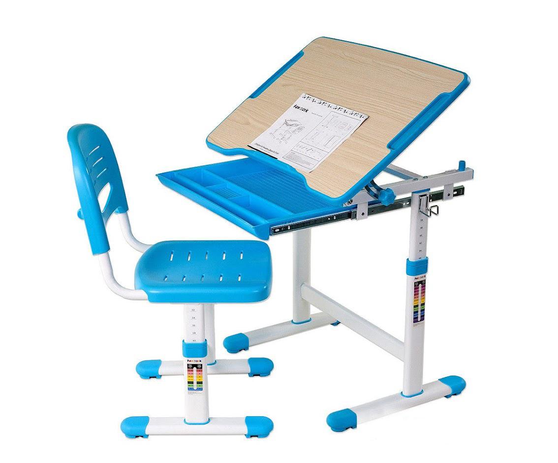Парта со стулом Fun Desk PICCOLINO Blue