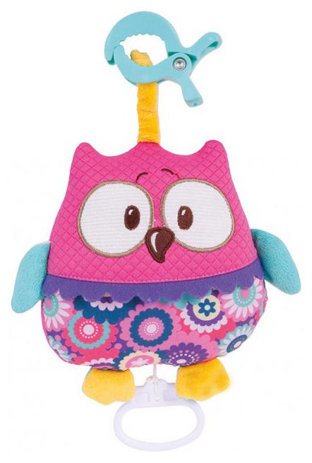 Купить Подвеска - мягкая музыкальная игрушка Сова Canpol Forest Friends 68/048, , Подвесные игрушки