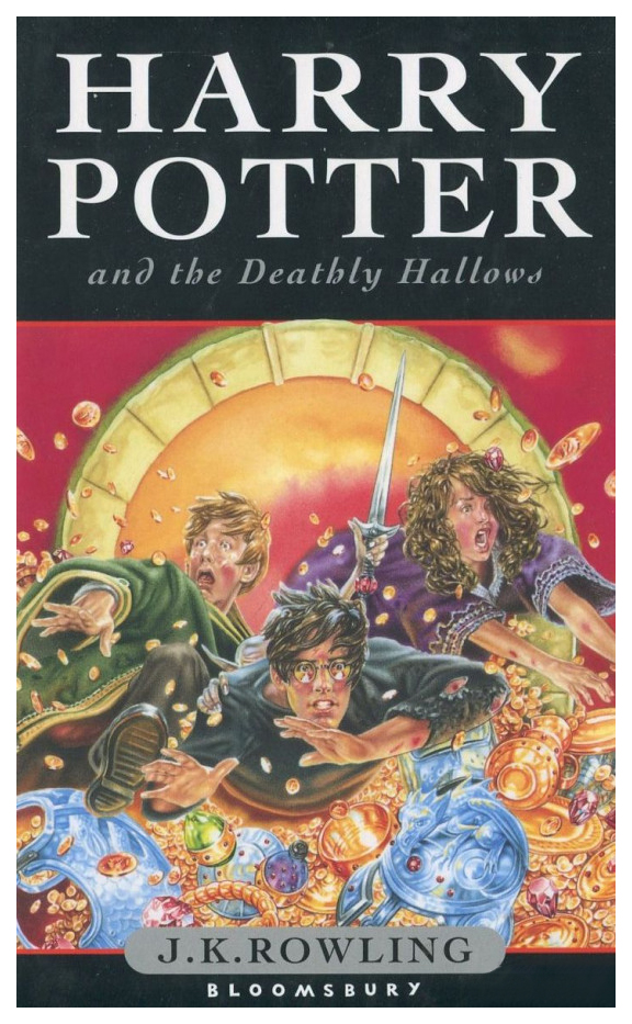 Книга Bloomsbury Publishing Harry Potter and the Deathly Hallows (Children's Edition) фото