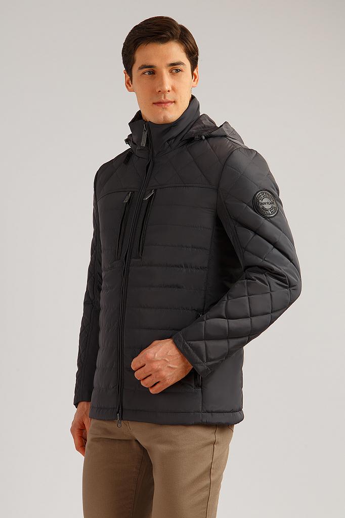 Куртка мужская Finn Flare B19-22002 черная M фото