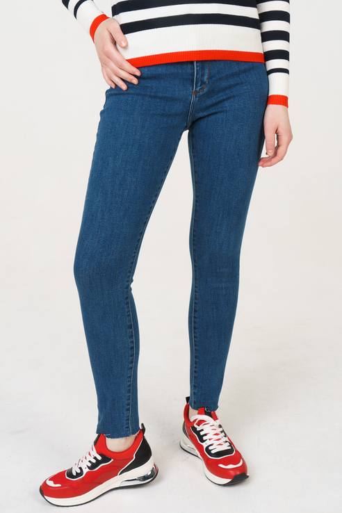 Джинсы женские Vero Moda 10208007 голубые M