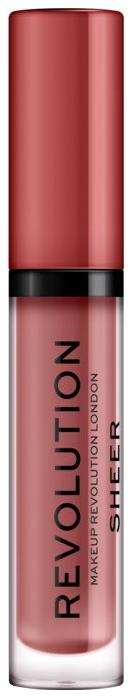 Купить Блеск для губ Revolution Makeup Sheer Brillant Ballerina 112, Makeup Revolution