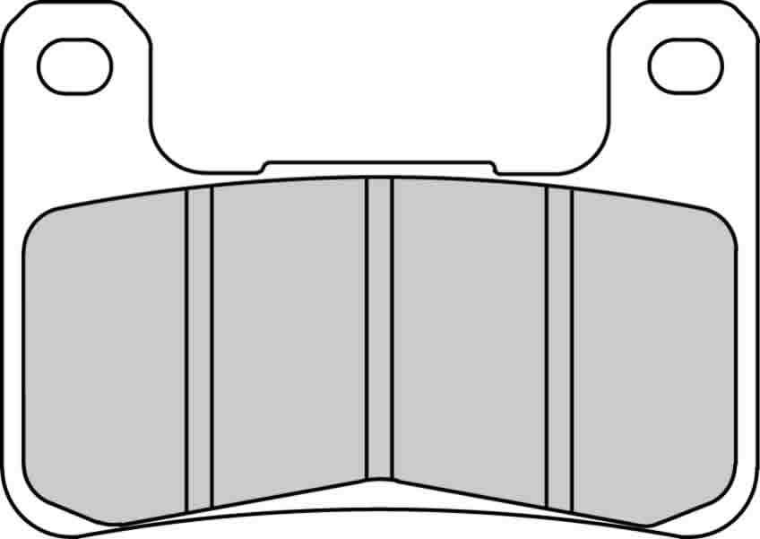 Тормозные колодки передние Ferodo FDB2178ST для мотоциклов