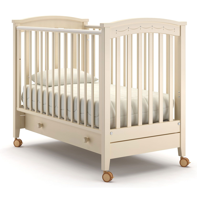 Купить Perla solo, Детская кровать Nuovita Perla solo, слоновая кость, Классические кроватки