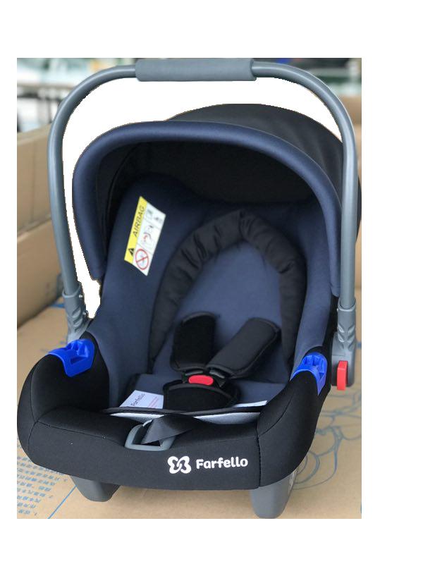 Автокресло детское Farfello сине-чёрный, KS-2150/b