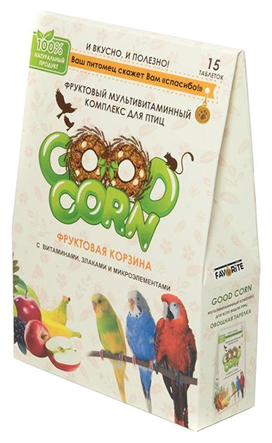 Витамины для птиц GOOD CORN Фруктовая корзина