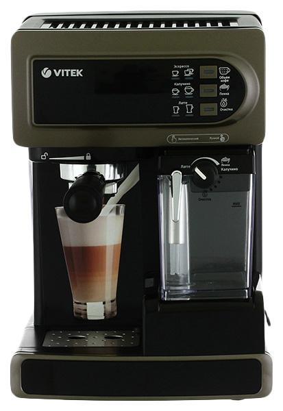 Рожковая кофеварка Vitek VT 1514 BN Brown