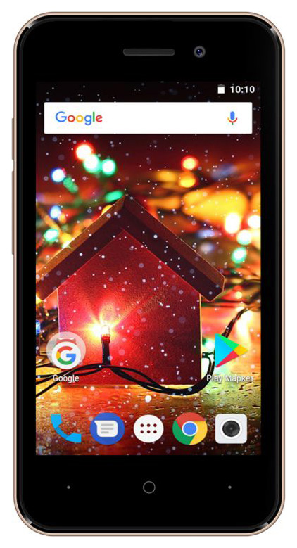 Смартфон Digma HIT Q401 3G 8Gb Gold фото